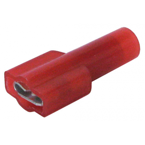 "1/4"" FULLY INSULATED FEMALE, RED"
