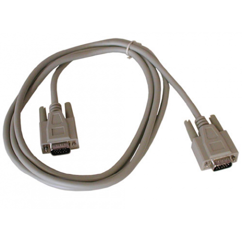 6FT VGA CABLE, DE15HD M-M