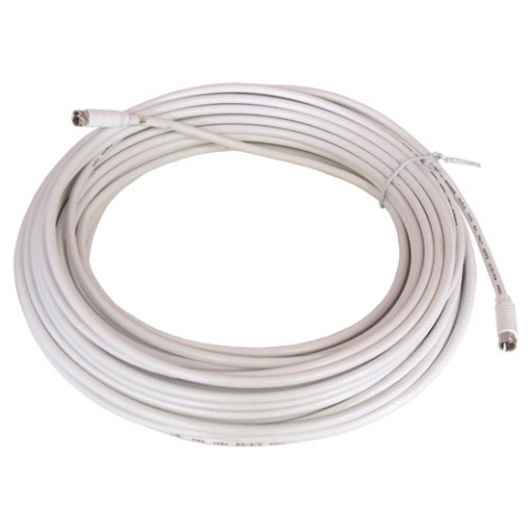 100' WHITE RG-6U VIDEO HOOK-UP CABLE