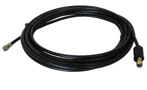 25' BLACK RG-6U VIDEO HOOK-UP CABLE
