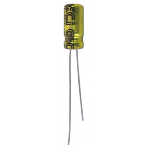 10MFD/16V RADIAL ELECTROLYTIC CAPACITOR