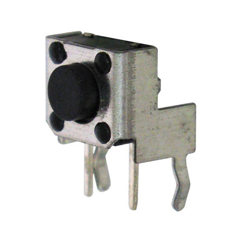 SPST MINI RIGHT-ANGLE TACTILE PUSHBUTTON