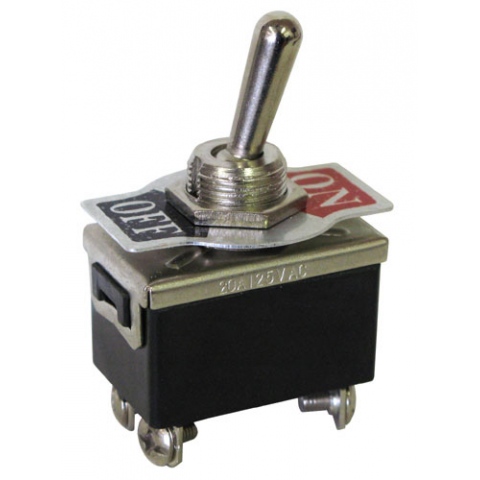 DPST ON-OFF HEAVY DUTY TOGGLE SWITCH