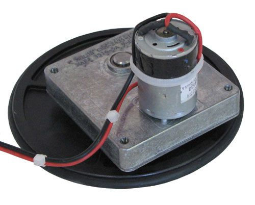 24 Vdc Gear Motor W Turntable All Electronics Corp