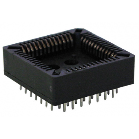 52 PIN PLCC SOCKET, PC MOUNT
