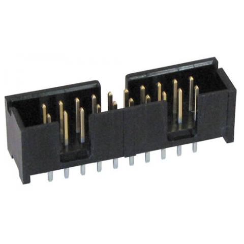 20-PIN (2 X 10) SHROUNDED HEADER