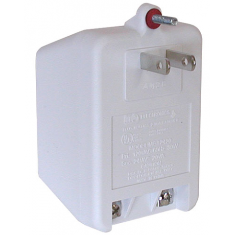 24VAC 20VA WALL TRANSFORMER | All Electronics Corp.