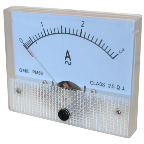 3A AC PANEL METER
