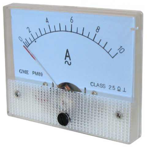 10A AC PANEL METER