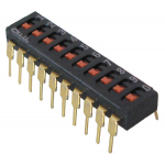 10-POSITION DIP SLIDE SWITCH