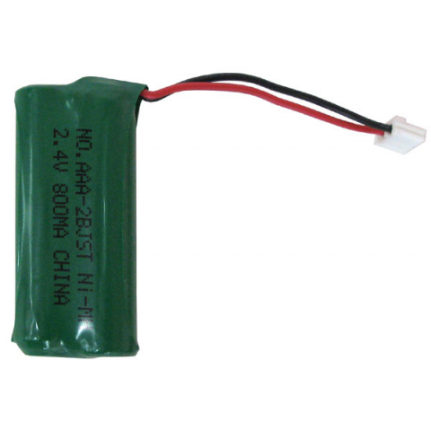 RECHARGEABLE BATTERY PACK FOR CORDLESS PHONES, 2AAA CELLS