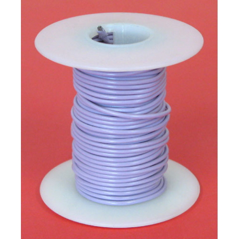 18 GA PURPLE HOOK UP WIRE, STR 25'