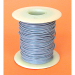 22 GA. GREY HOOK-UP WIRE, STRANDED 100'