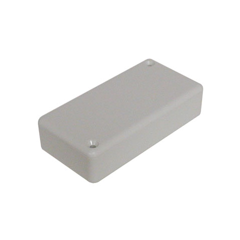 "GRAY ABS BOX, 3.15"" X 1.57"" X 0.8"""