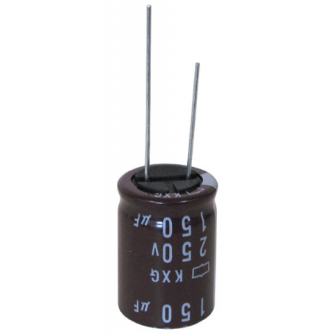 150 UF 250 V RADIAL CAPACITOR | All Electronics Corp