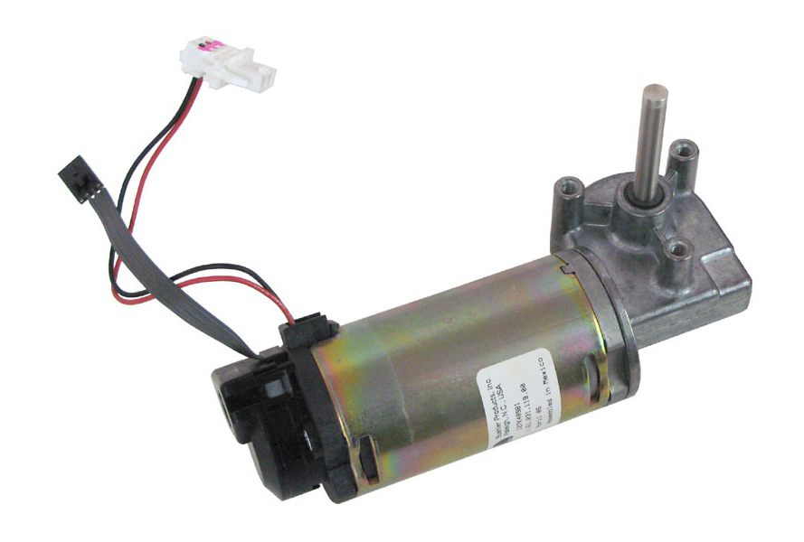 Mechanical Right Angle Gear Motor With Encoder