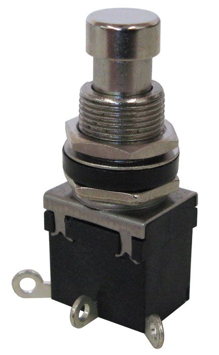 Spdt On  Off Pushbutton Switch