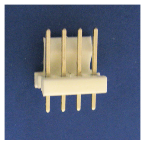 4-PIN PC MOUNT FRICTION LOCK HEADER