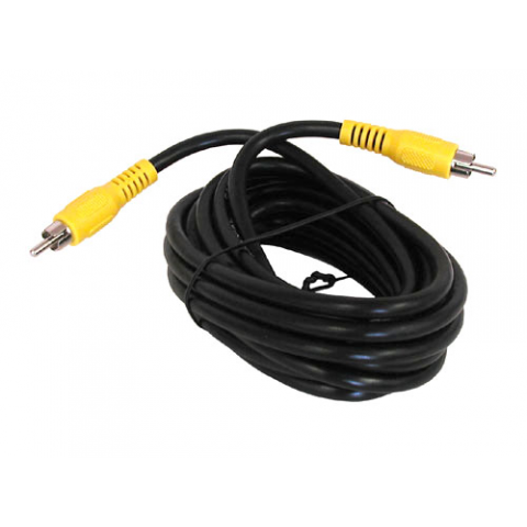 12' RCA PLUG TO RCA PLUG, CO-AX CABLES