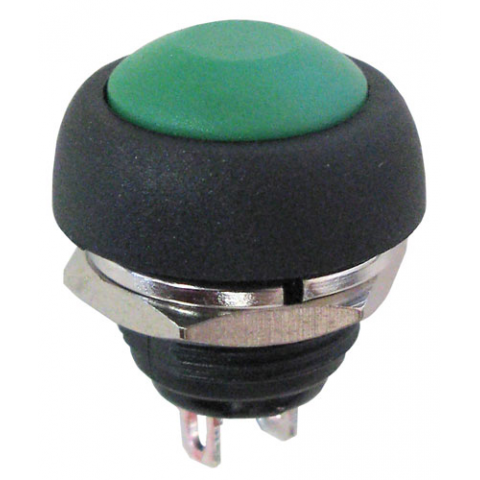 SPST N.O. PUSHBUTTON, GREEN