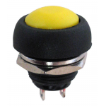 SPST N.O. PUSHBUTTON, YELLOW