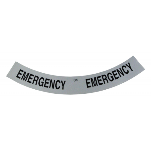 REFLECTIVE EMERGENCY STICKER