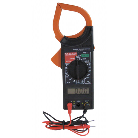DIGITAL CLAMP METER W/ TYPE K THERMOCOUPLE