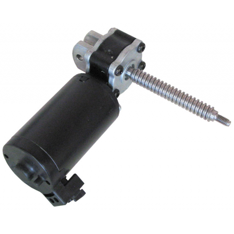 12VDC RIGHT-ANGLE GEARHEAD MOTOR WITH WORM DRIVE