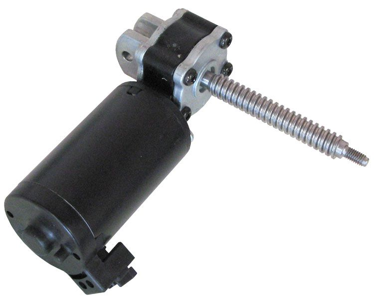 12vdc Right Angle Gearhead Motor With Worm Drive All