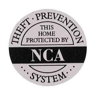 HOME SECURITY STICKER