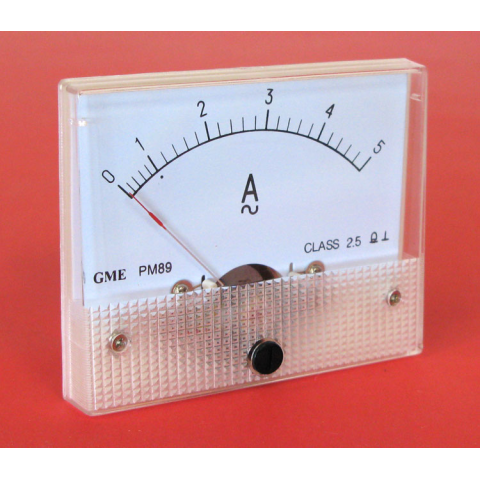 5A AC PANEL METER