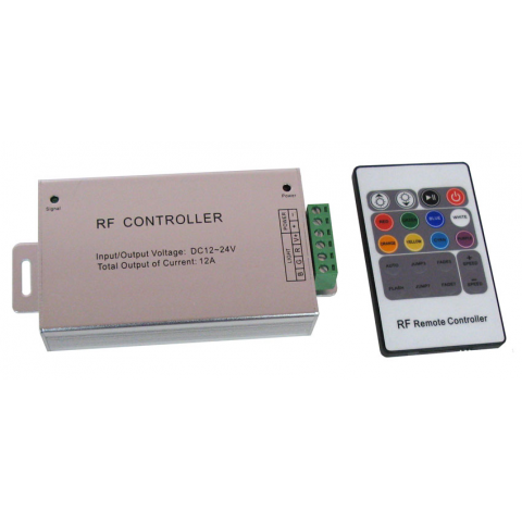 RF CONTROLLER FOR LED STRIPS