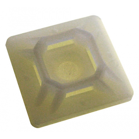"3/4"" SQUARE ADHESIVE-BACKED TIE MOUNT"