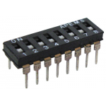8 POLE DIP SWITCH, LOW PROFILE