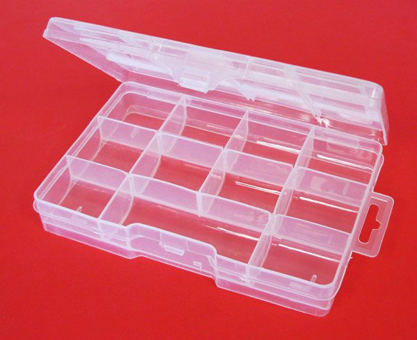 11 COMPARTMENT STORAGE BOX
