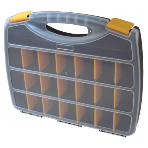 23 SECTION PLASTIC STORAGE BOX