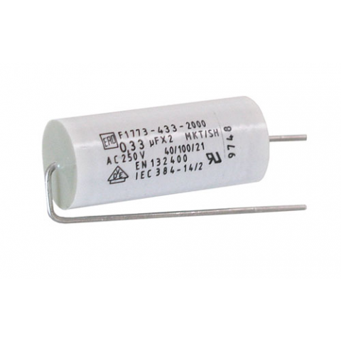 1 Uf 250 V Metallized Polyester Film Capacitor All