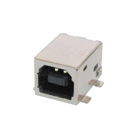 USB-B JACK, SURFACE MOUNT