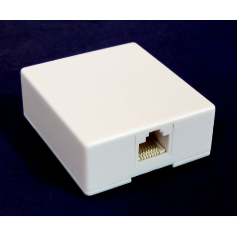 RJ-45 (8-PIN) SURFACE-MOUNT JACK