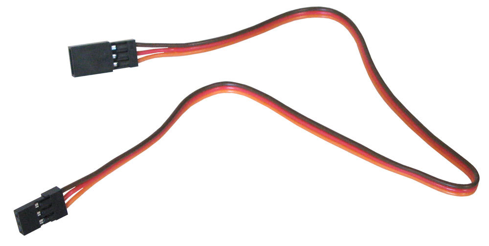 "RC SERVO OR BATTERY 12"" EXTENSION CABLE"
