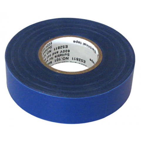 "3/4"" X 60' ELECTRICAL TAPE UL, BLUE"