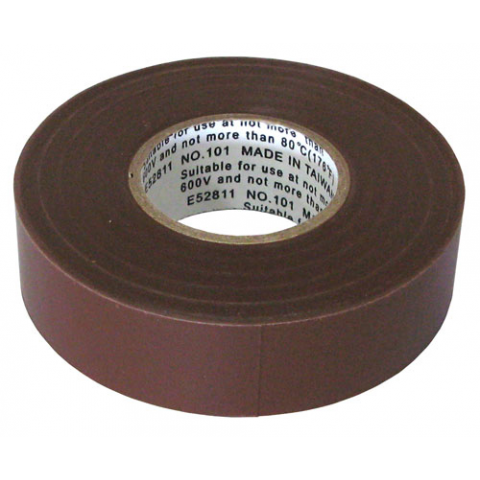 "3/4"" X 60' ELECTRICAL TAPE, BROWN"