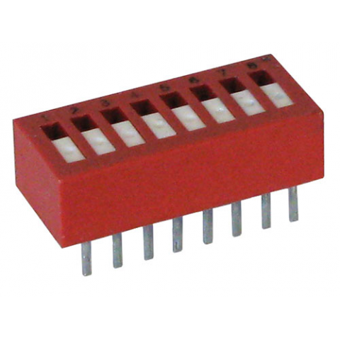 8-POLE DIP SWITCH