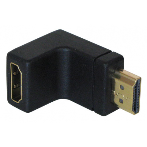 HDMI PLUG, RIGHT-ANGLE ADAPTER
