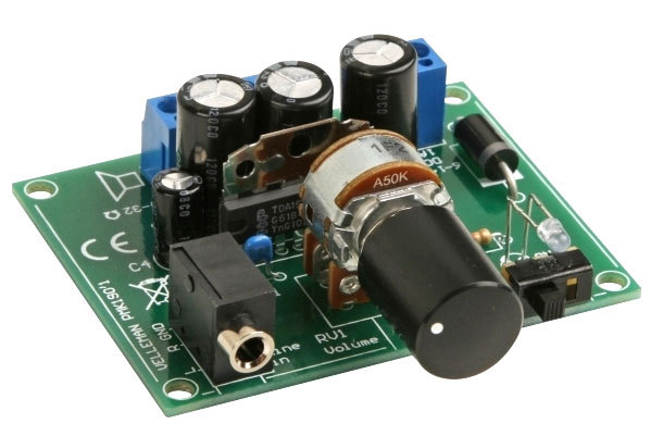 2X5W AMPLIFIER FOR MP3 PLAYER KIT