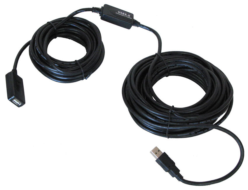 80' USB 2.0 ACTIVE REPEATER CABLE
