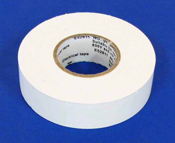 "3/4"" X 60' ELECTRICAL TAPE UL/WHITE"