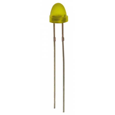 "YELLOW ""STUBBY"" 5MM LED"