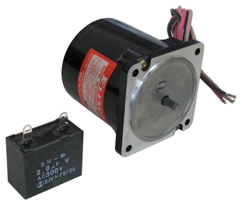 115vac rapid reversible ac motor all electronics corp Reversible ac motor