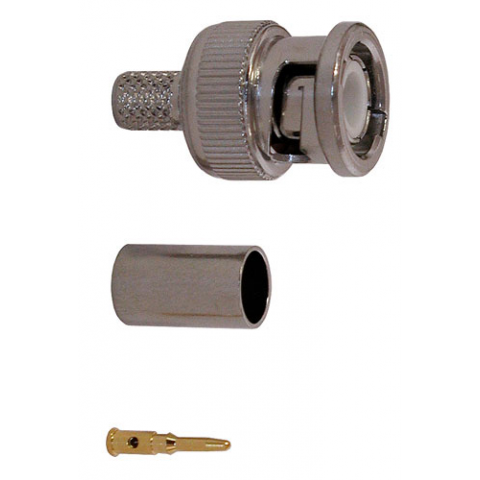 BNC CONNECTOR FOR RG-59, 62 (3 PIECES)